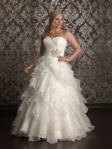 Allure Woman Style W314 plus-size wedding dress