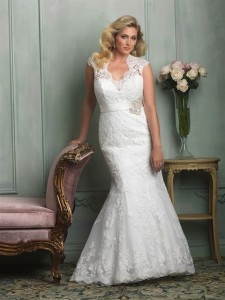 Allure Woman Style W330 plus-size wedding dress