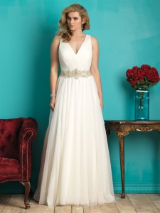 Allure Woman Style W362 plus-size wedding dress